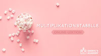 MULTIPLIKATIONSTABELLE Youtube Channel Art