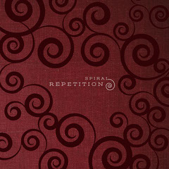 Red and Black Spiral Album Cover Red
