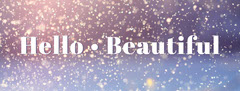 Glitter Beauty Facebook Profile Cover Beauty