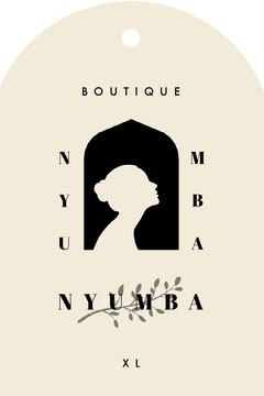 Boutique Clothing Tag Template Clothing