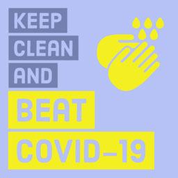 COVID-19 Instagram Square