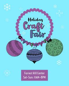 holiday craft fair poster Fairs