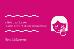 Flora Makeovers Gift Card