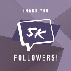 5k Thank You Poster