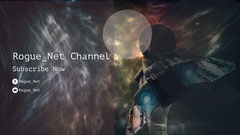 White and Black Rogue Net Channel Banner Sun