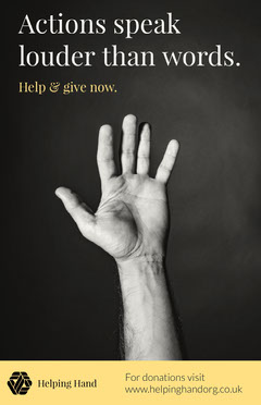 Homelessness Poster Donations Flyer