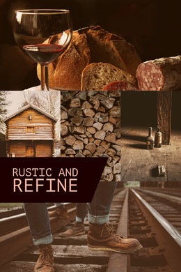 Brown Rustic and Refine College Montage photo