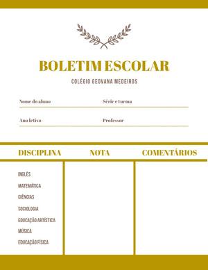 academic academy report cards  Fichamento