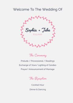 Sophia + Jake Weddings