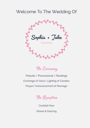 Sophia + Jake Program