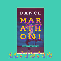 Turquoise Dance Event Instagram Square Ad Dance Flyers