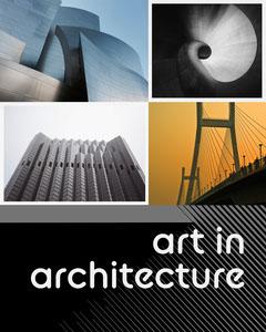 Black Gray and White  Collage Art In Architecture Instagram Portrait Art