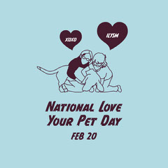 national love your pet day instagram Family