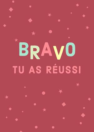 you got this congratulations cards Carte de félicitations
