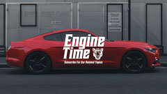 Engine Time Youtube Channel Art Car