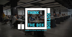 Think outside the box LinkedIn post Business