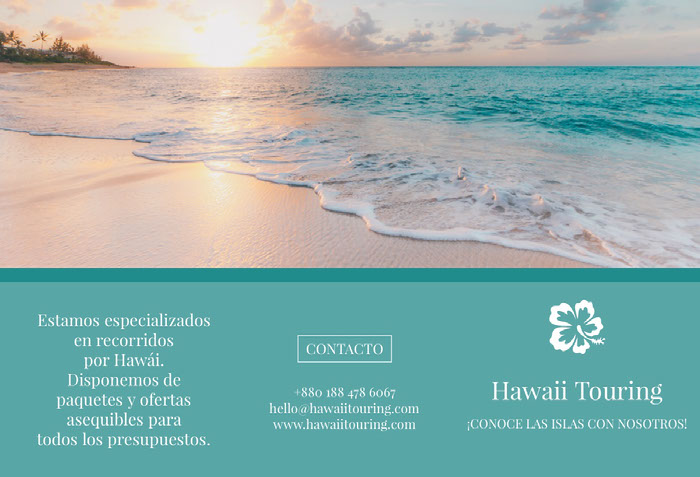 Hawaii touring travel brochures  Idées de brochures