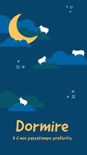 counting sheep iPhone wallpapers  Sfondo