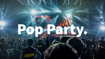 Light, Modern Pop Party You Tube Cover YouTube Image Sizes