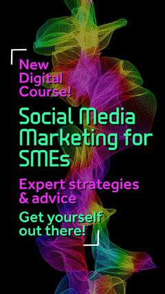 Multicolour Digital Media Class Instagram Story Social Media Flyer