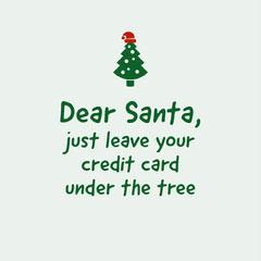 Santa Note Christmas Tree Instagram Square Trees