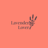 Red and Black Minimalistic Lavender Lover Instagram Post Logo