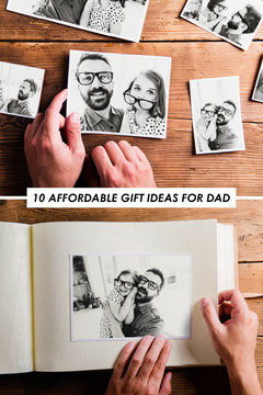 Minimalist Split Frame Photo Grid Pinterest Graphic Frame