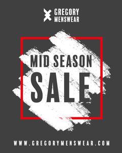 Grey Gregory Menswear Sale Instagram Portrait Men