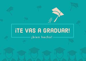 graduating congratulations cards  Tarjeta de felicitación