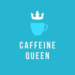 CAFFEINE<BR>QUEEN Coffee
