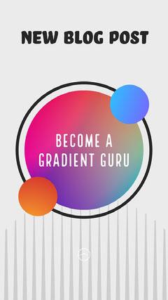Gradient Guru Graphic Design Tutorial Blog Post Instagram Story Tutorial