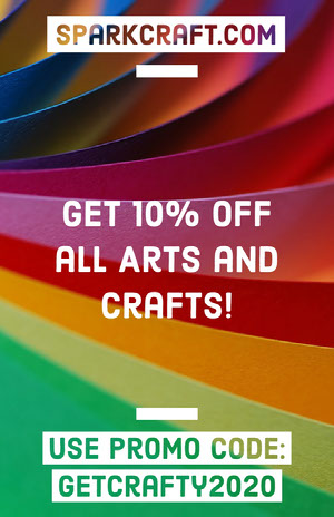 Multicolored Art and Craft Store Ad Flyer Kunstplakat