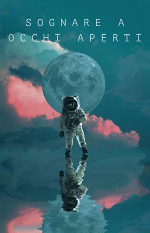 spacing out astronaut poster Locandina