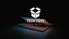 Black Background Laptop Photo Technology Unboxing Youtube Channel Art Tech