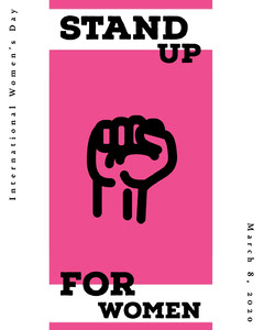 Stand Up for Women Instagram Portrait Portrait