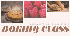 BAKING CLASS Dessert