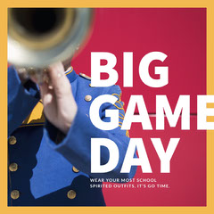 BIG<BR>GAME<BR>DAY Band
