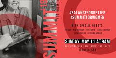 Summit for Women Eventbrite Event Banner