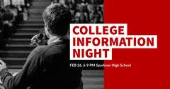 COLLEGE INFORMATION<BR>NIGHT College