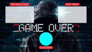 red gamer YouTube end screen YouTube End Screen