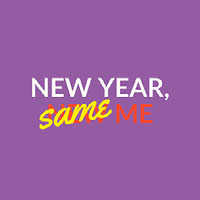 Purple, Red and Yellow Meme Instagram Graphic  Happy New Year Quotes