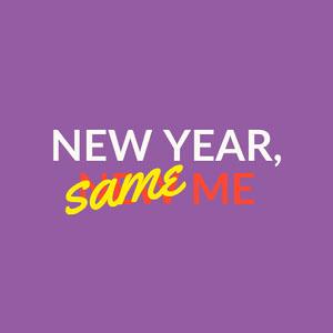 Purple, Red and Yellow Meme Instagram Graphic  Tipografía gratis