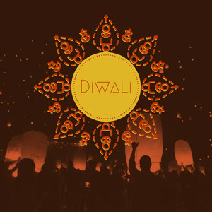Brown and Yellow Diwali Instagram Graphic Diwali