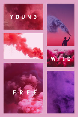 Free Photo Collage Templates Adobe Spark