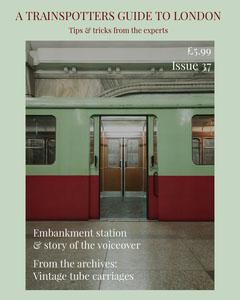 Train-spotting Magazine Cover Guide