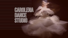 White and Brown Dance Studio Social Post Dance Flyers