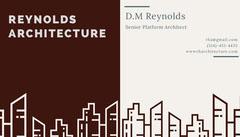 REYNOLDS<BR>ARCHITECTURE Architecture