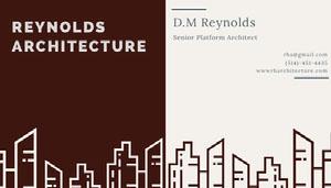 REYNOLDS<BR>ARCHITECTURE
