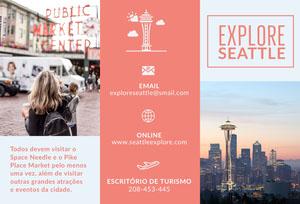 Seattle explore travel brochures  Panfleto