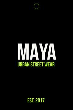 maya urban street wear clothing tag Clothing